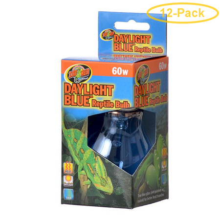 Zoo Med Daylight Blue Reptile Bulb 60 Watts - Pack of -
