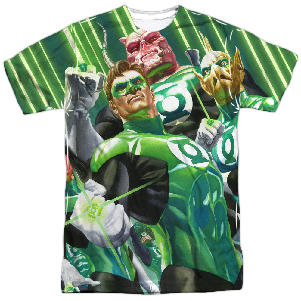 Green Lantern High Beams Mens Sublimation Shirt