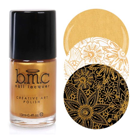 BMC 2nd Generation Creative Nail Art Stamping Polishes - Essentials: (Best Nail Polish For Stamping)