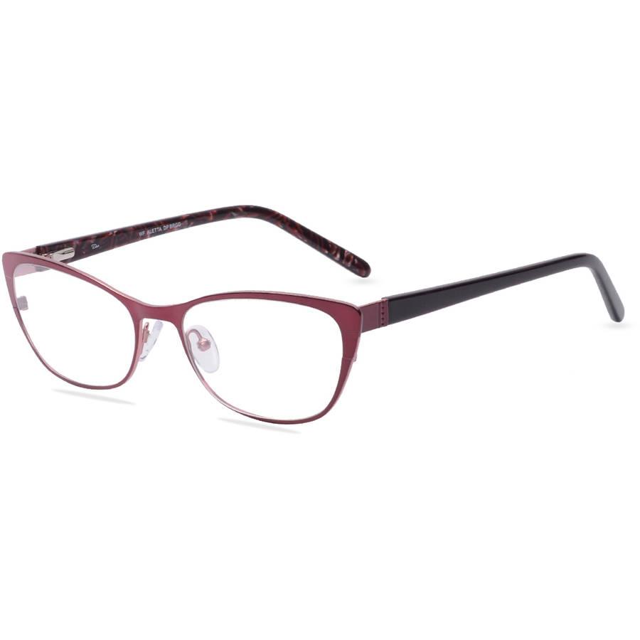 dea eyewear womens prescription glasses burgundy