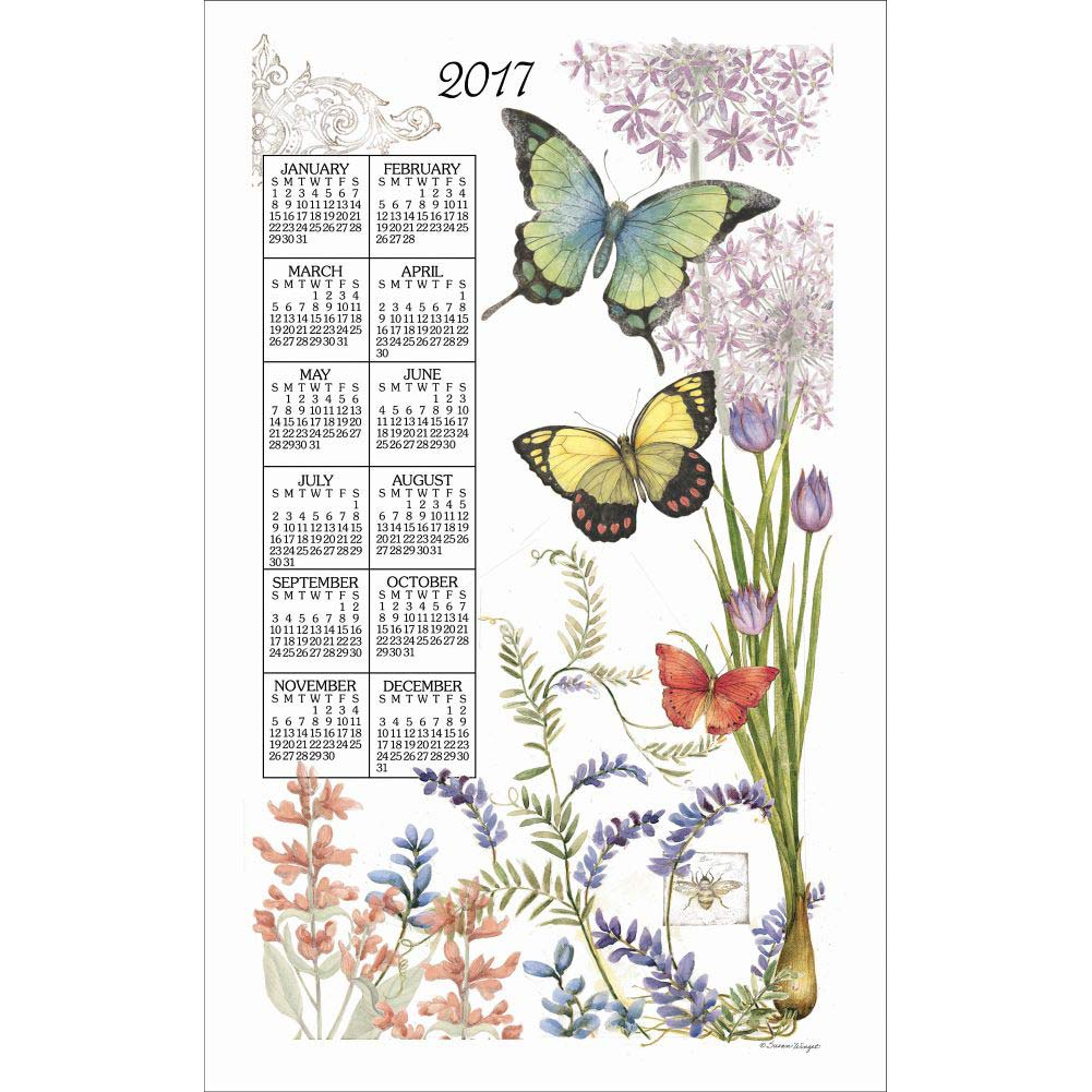 Serendipity Kitchen Towel Calendar