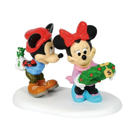 Dept 56 Disney Village 4059719 Mickey's Mistletoe Surprise New 2018 - Dept 56 Disney Halloween