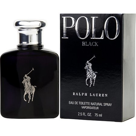 POLO BLACK by Ralph Lauren - EDT SPRAY 2.5 OZ - MEN