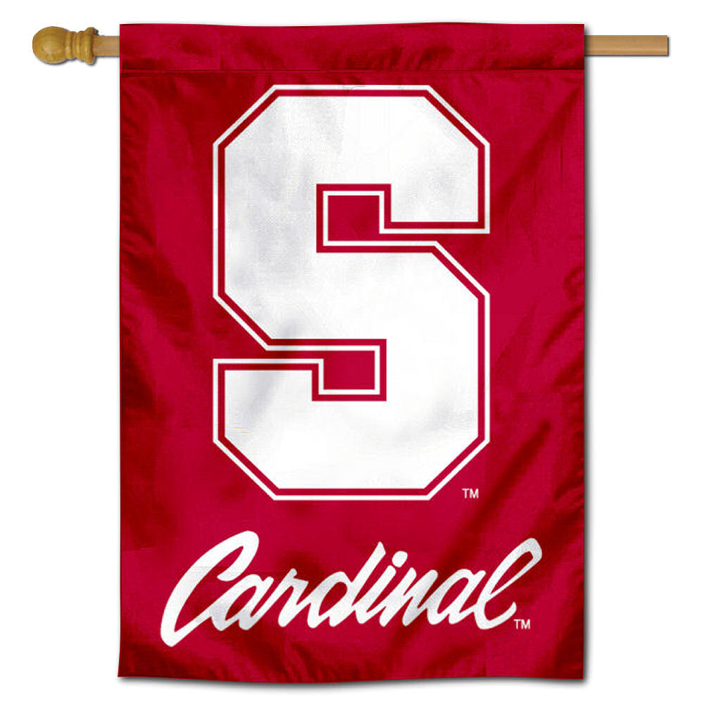 """Stanford Cardinal 30"""" x 40"""" House Flag and Banner"""