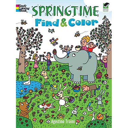 Springtime Activity - Springtime Find & Color