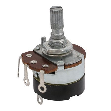 Guitar Pots Audio Tone 500K Ohm Potentiometer Switch Replacement 2pcs - image 1 of 2