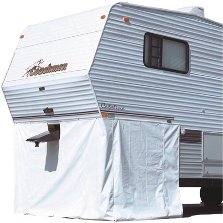 "ADCO 5th Wheel Storage Skirt 64"" High, Polar White"