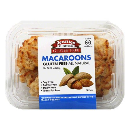 DISCOED Jennies Almond Macaroons, 10 Oz (Pack of 12)