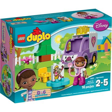 LEGO DUPLO Doc McStuffins Doc McStuffins Rosie the Ambulance, 10605