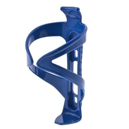 Bike Bicycles Blue Plastic Water Bottle Holder Bracket Cage