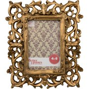 Better Homes and Gardens 4x6 Gold Ornate Frame