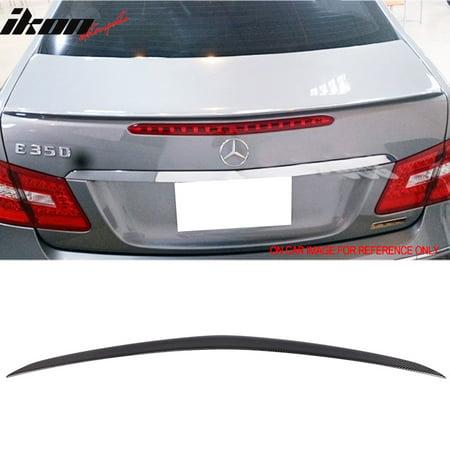 - Fits 10-16 Benz C207 E-class 2Dr Carbon Fiber Trunk Spoiler (CF)