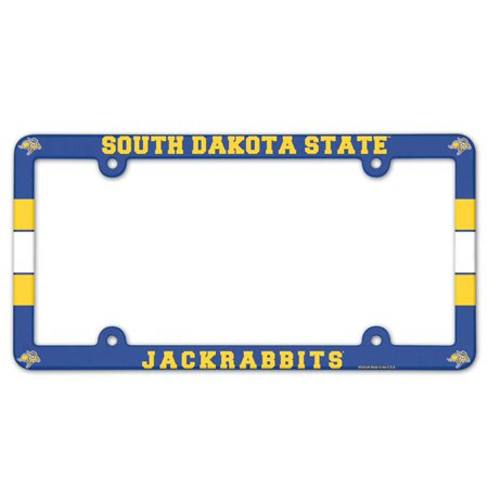 South Dakota State Jackrabbits Plastic License Plate Frame ()
