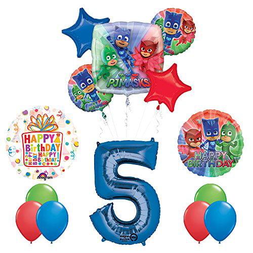 "18"" Amscan Happy 5th Birthday Foil Helium Balloon"