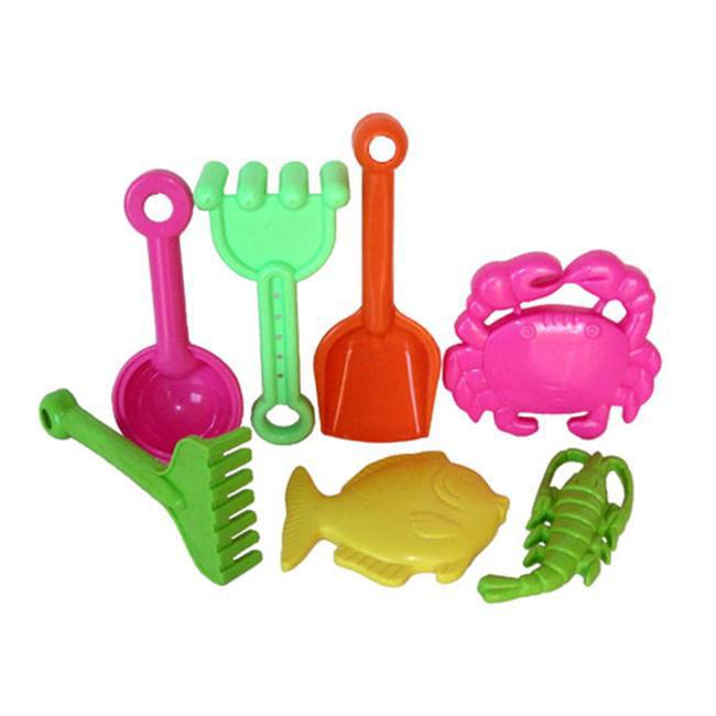 Sunshine Trading BT-23 Tool Sand Toy - 7 Piece Set