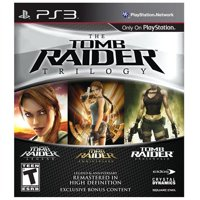 Tomb Raider Trilogy, Square Enix, PlayStation 3, 662248910376