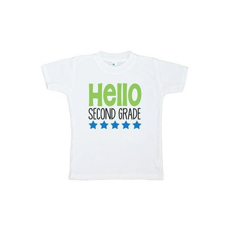 Custom Party Shop Kids Hello 2nd Grade School T-shirt - X-Large / 18-20