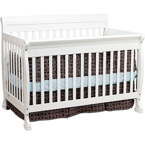 Baby Mod - Cadence 4-in-1 Convertible Crib, White