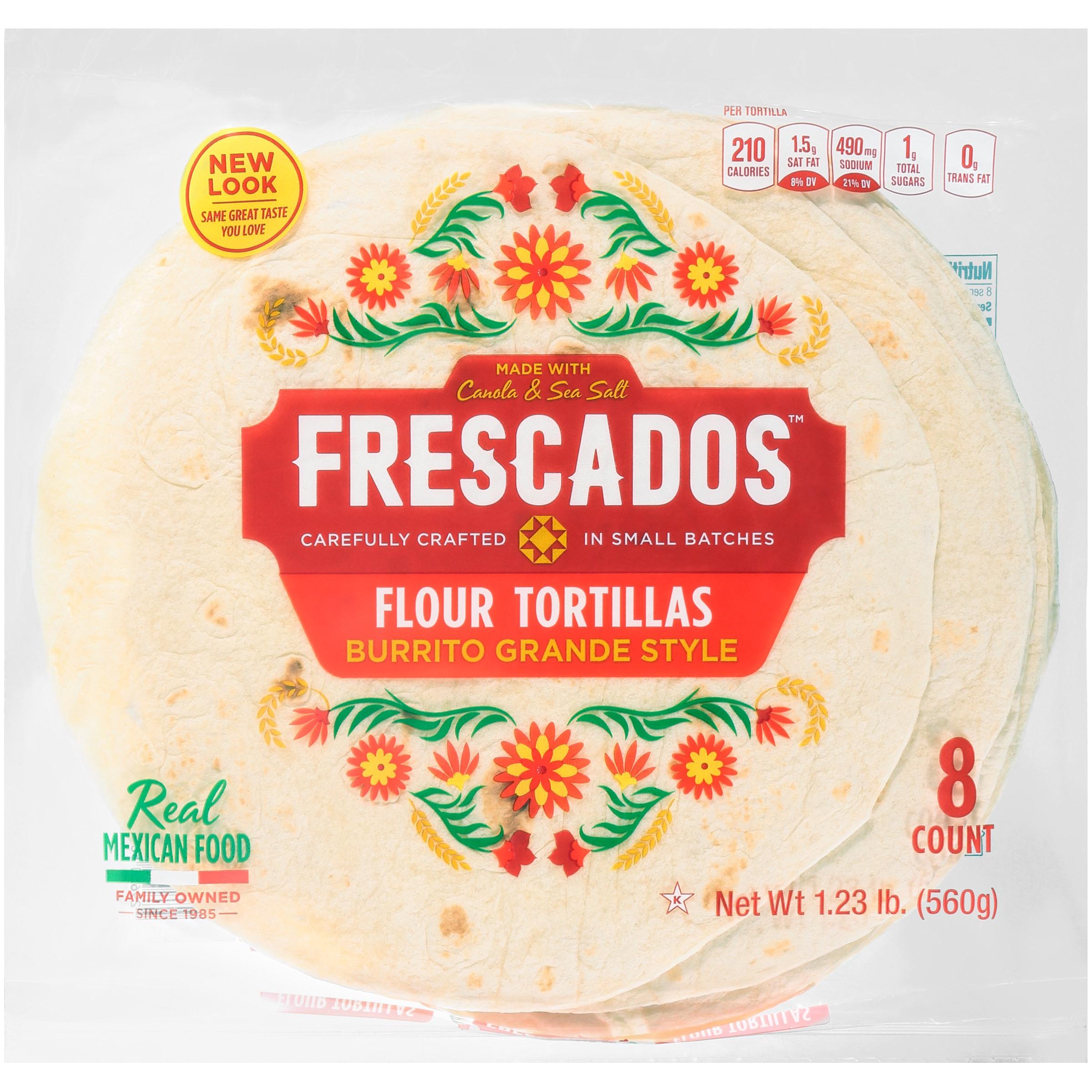 Frescados® Chimichanga Style Flour Tortillas 8 ct Bag