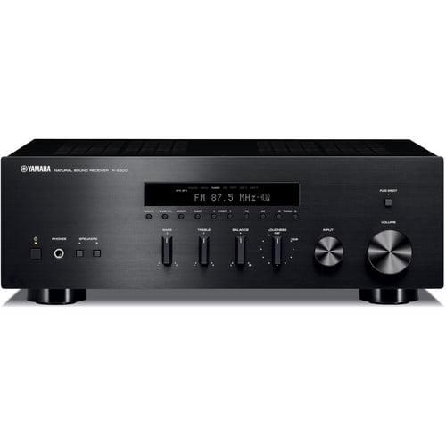 Yamaha R-S300BL Stereo Receiver (Black) by Yamaha