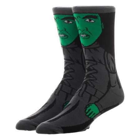 Crew Socks - Wicked Witch - 360 Character New Licensed cr7608wiz](Witch Socks)