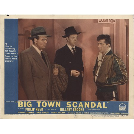 Framed Art For Your Wall Big Town Scandal 1948 Laminated