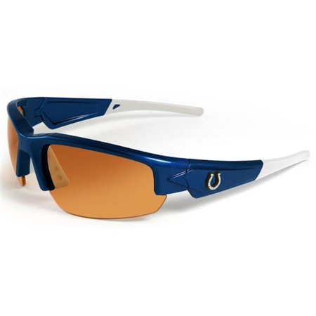 Indianapolis Colts Sunglasses Dynasty 2. 0 Blue with White Tips by