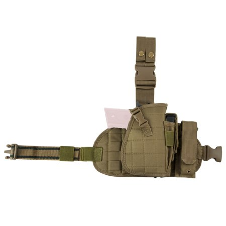 - Drop Leg MOLLE Panel/Holster/Magazine Pouch