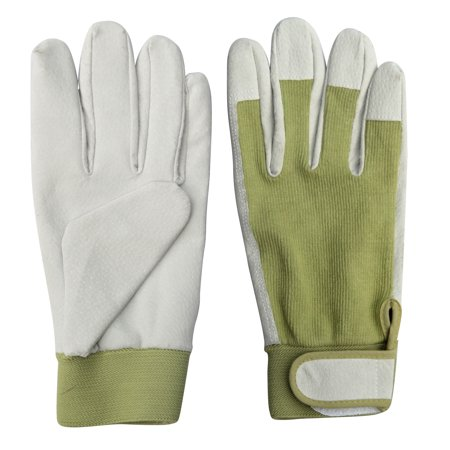 Worth Garden 9.5 in. Leather Gardening Ladies Gloves
