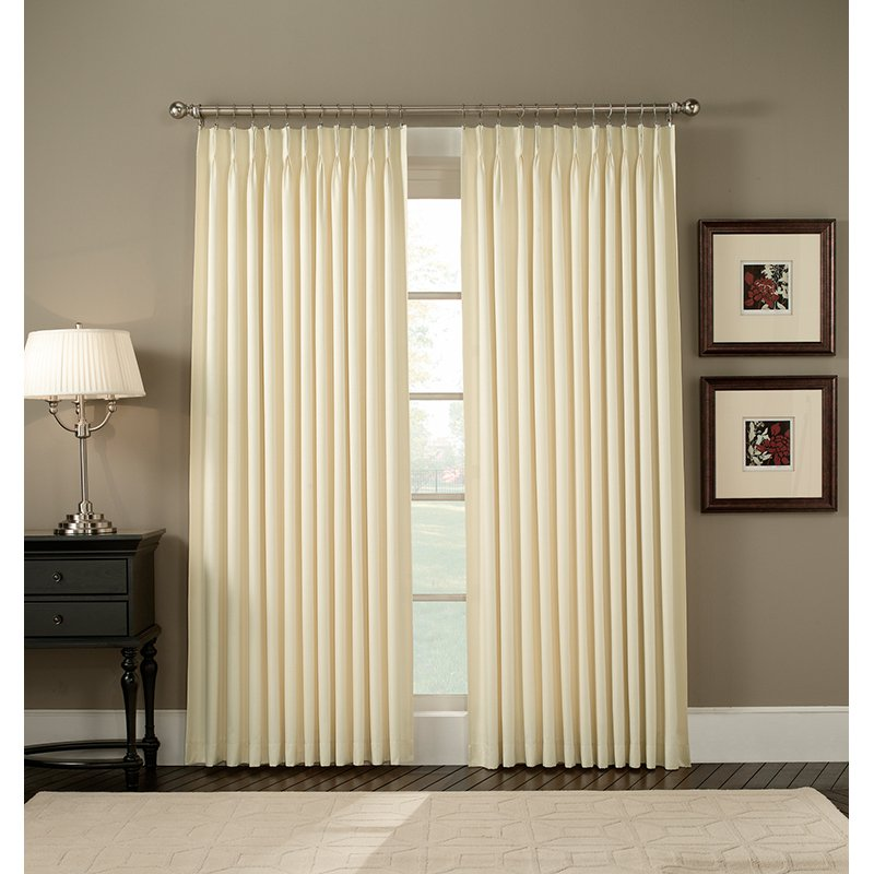 Ellis Crosby Pinch Pleat Curtain Panel Pair