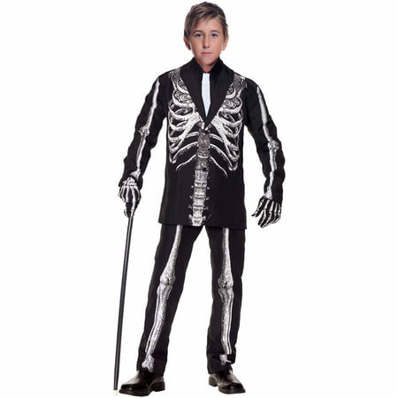 Bone Daddy Child Halloween Costume - Simple Carnival Costumes
