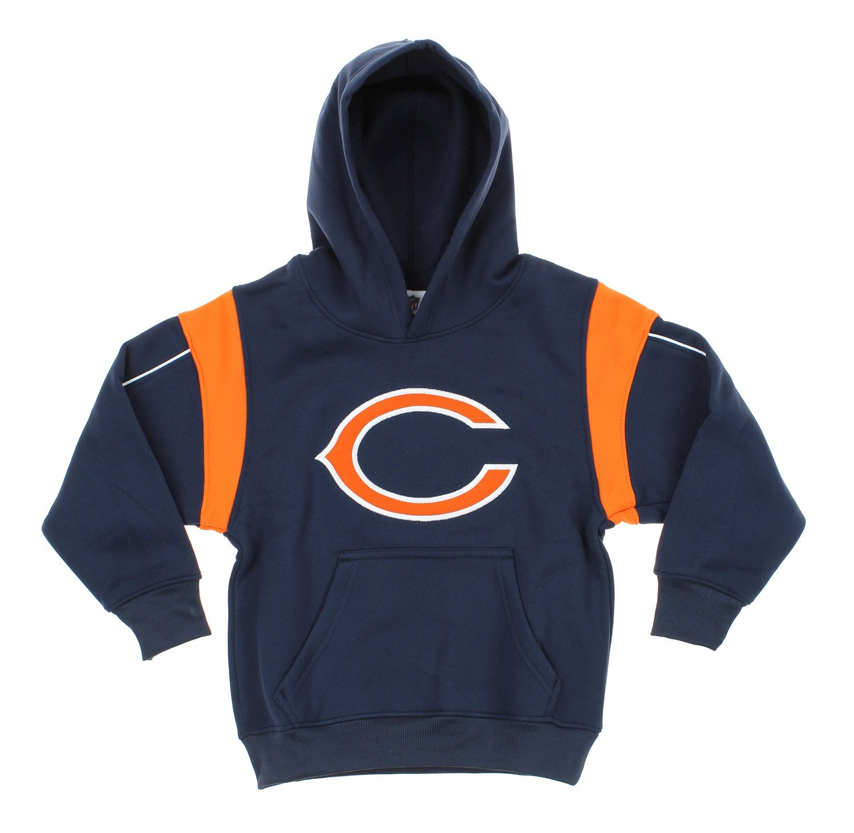 OuterStuff NFL Football Kids & Youth Chicago Bears Hoodie Sweatshirt, Navy