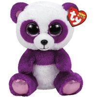 89d4d252ae3 Product Image TY Beanie Boos -Boom Boom the Purple Panda (Glitter Eyes)  Small 6