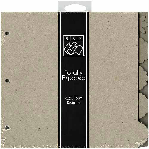 Totally Exposed Album Chipboard Divider