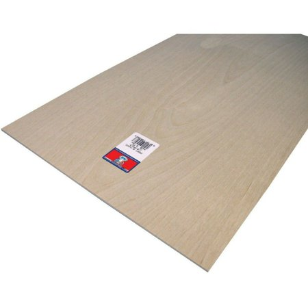 Midwest Products 5306 Birch Veneer Craft Plywood, 1/8