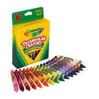 Crayola Triangular Crayon Set, 16 Colors