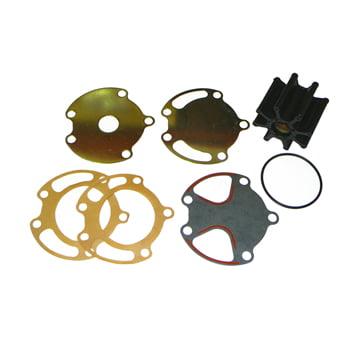 Mercruiser Raw Water Pump - Raw Water Pump Impeller Kit Mercruiser V6 & V8 w/2Pc HousingPro #: 64909 X-Ref #: 47-59362K0818-3318