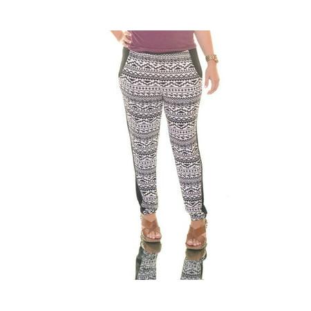 Rossmore Women's Snake Soft Stretch Pants S Black/White ()