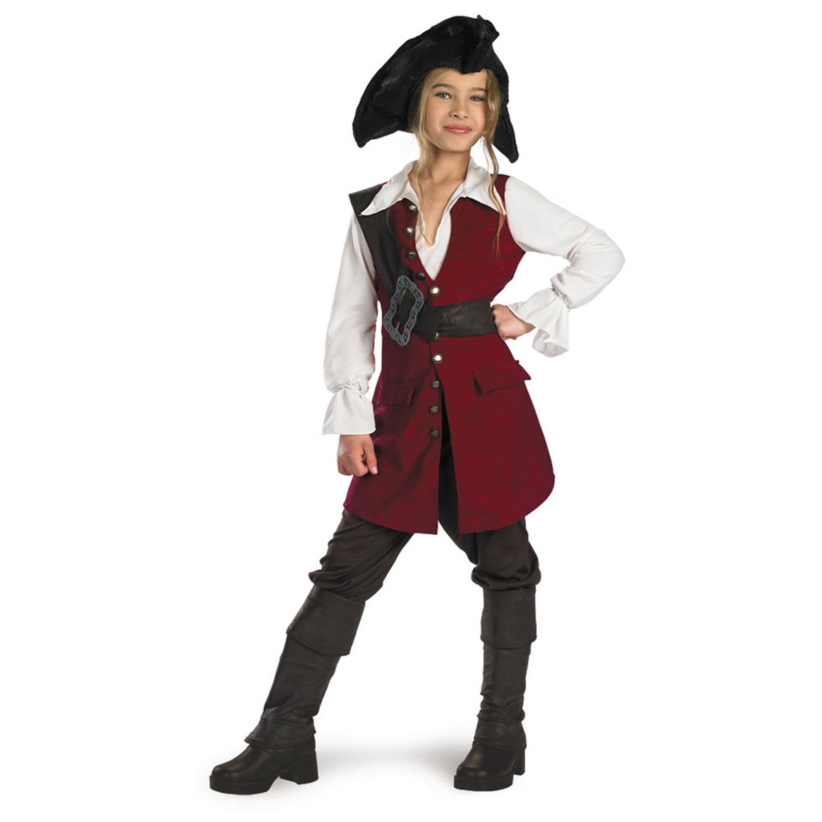 Disguise Inc Elizabeth Swann Pirate Deluxe Kids Costume