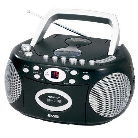 Jensen Cd-540 Portable Stereo Compact Disc Cassette Recorder With Am fm Radio (cd540) by