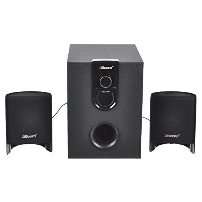 Image of 2boom Csp210 Luxebass Multimedia Stereo Speakers