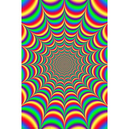 Fractal Illusion 2.0 Poster - 24x36