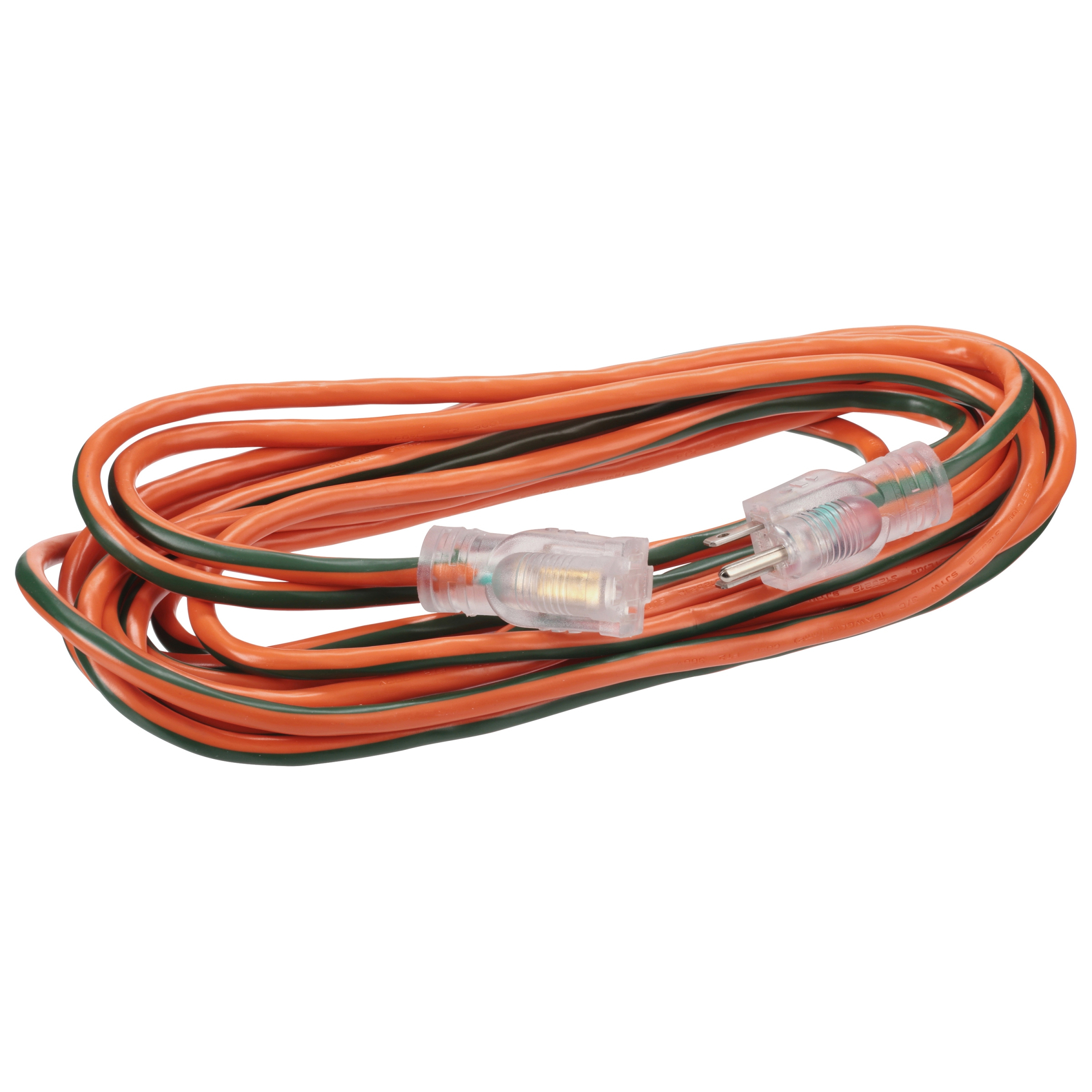 GoGreen Power 16 3 13725 25' Heavy-Duty Extension Cord, Lighted End by GoGreen Power, Inc.