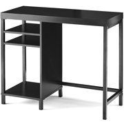 Mainstays Sumpter Park Cube Storage Desk, Black Finish