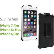 Cellet Rubberized FORCE Holster for Apple iPhone 8 Plus / 7 Plus / 6S Plus / 6 Plus