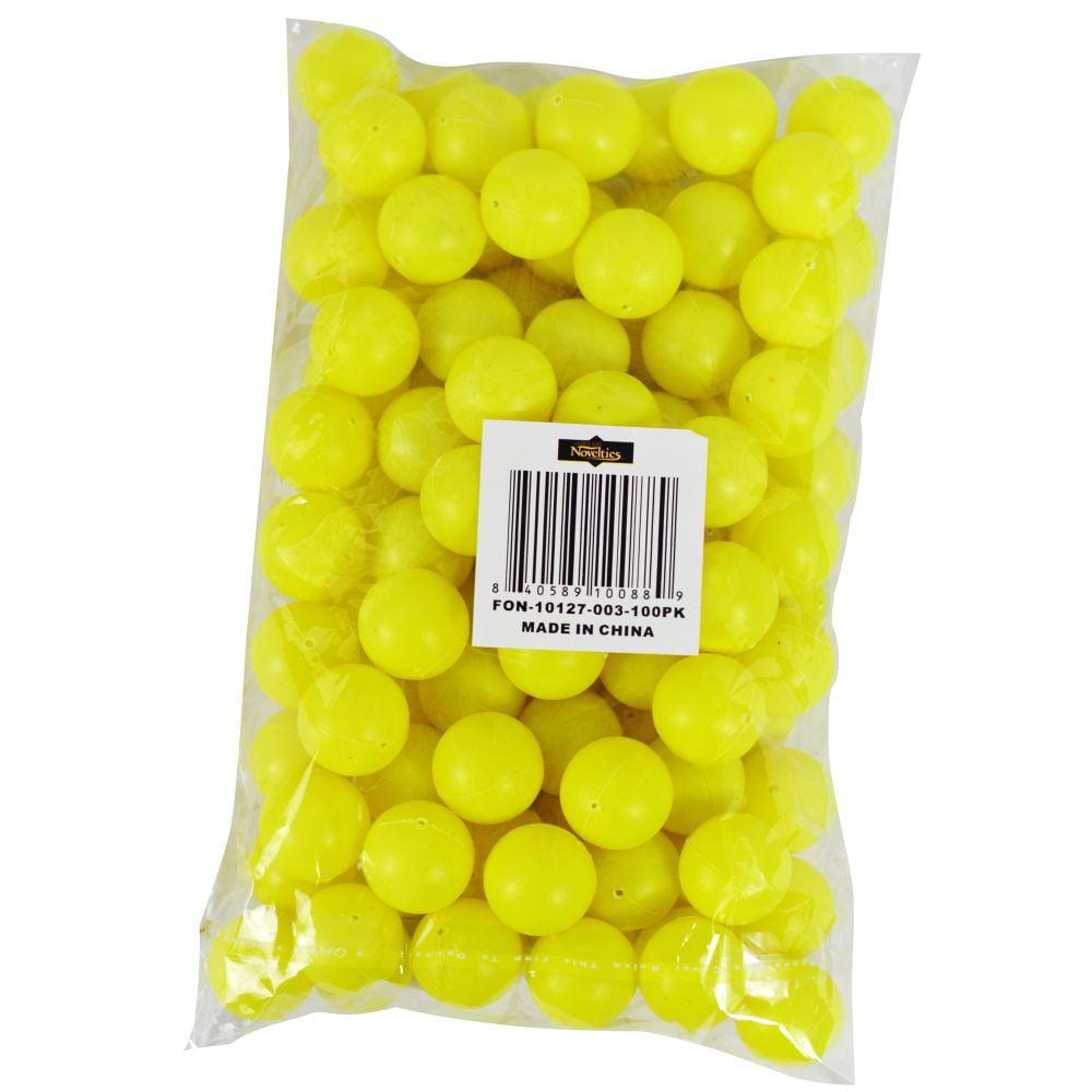 100pk Table Tennis 19mm Beer Pong Round White Balls 3//4 Mini Ping Pong