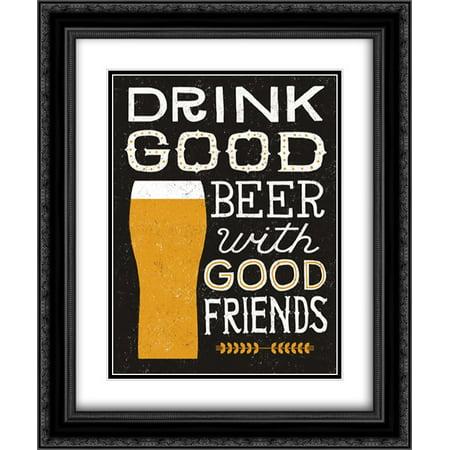 Craft Beer IV 2x Matted 20x24 Black Ornate Framed Art Print by Mullan, Michael](Michaels Craft Shop)