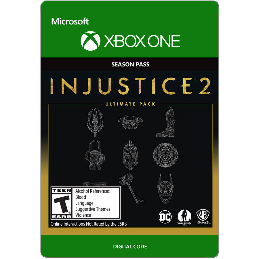 Image of Xbox One Injustice 2 Ultimate Pack (email delivery)