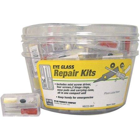 Glasses Repair Kit Kmart : Hy-Ko KB223-BKT Eyeglass Repair Kit, Plastic - Walmart.com