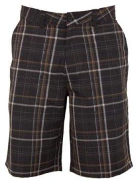Hang Ten Men's Hybrid Short, Gray Stripe, Size 40